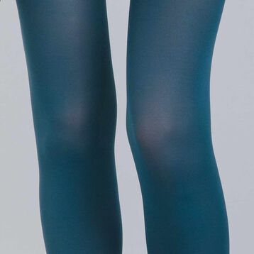 Style 50 velvety green opaque tights - DIM