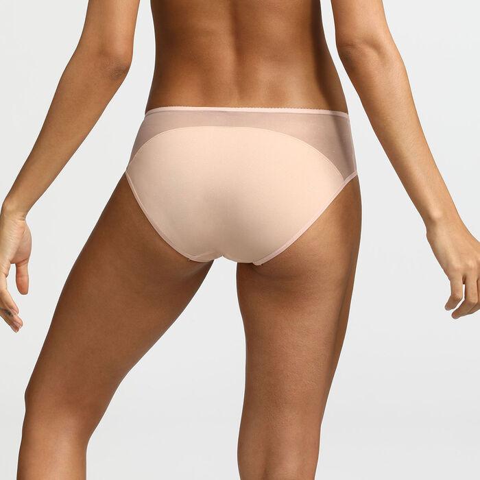 Generous Limited Edition Dim Nude Glitter Microfibre Panty, , DIM