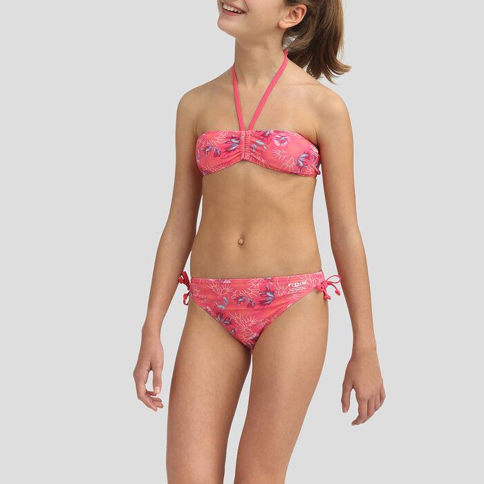 Passion pink strapless bikini Dim Girl, , DIM