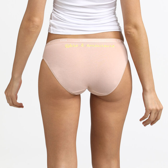 Les Pockets de Dim pack of 5 cotton stretch panties 30 years edition, , DIM