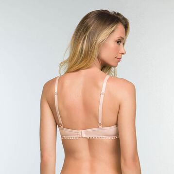 Soutien-gorge Foulard Ampliforme Skin Rose en dentelle Mod de Dim, , DIM