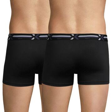 2-pack black trunks - X-temp Active, , DIM