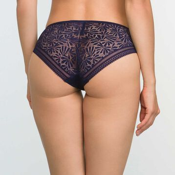 Infinite Blue lace and microfiber briefs Sublim Fashion, , DIM