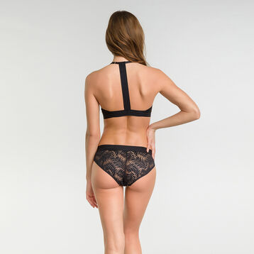 Black lace shorty - MOD de Dim, , DIM