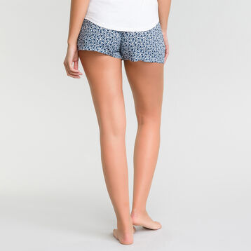 Pyjama shorts with floral print - Fashion, , DIM