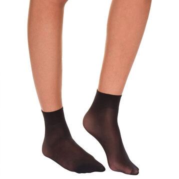 Socquettes noires Sublim Absolu® Resist 15D-DIM