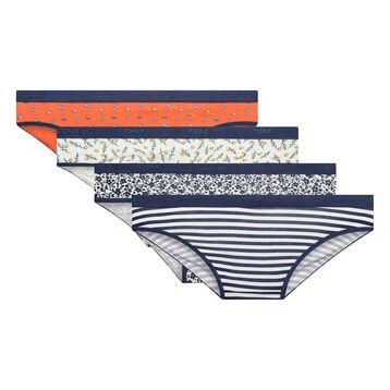 4 pack printed briefs - Les Pockets, , DIM