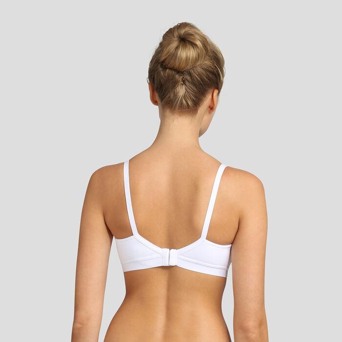 Dim white maternity bra , , DIM