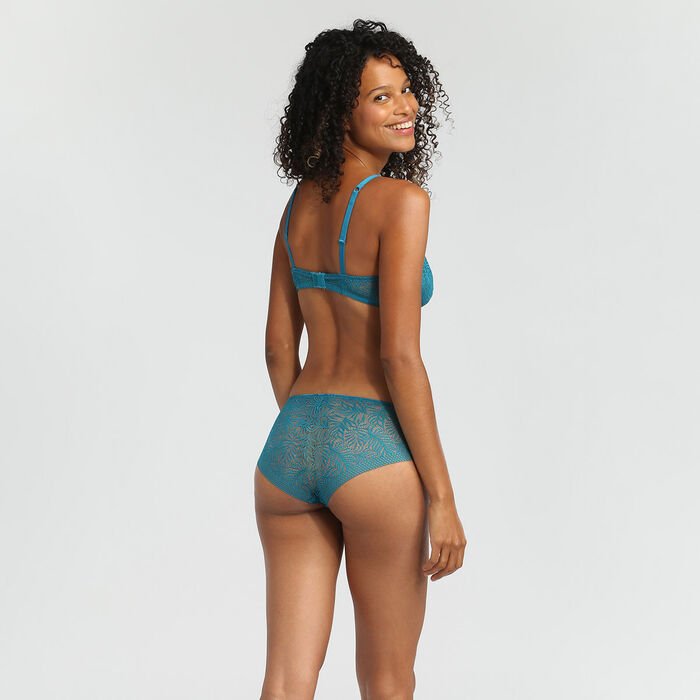 Shorty Bleu Lagon Coco Tropical de Dim, , DIM
