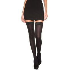 Black DIM Up Easy Body Touch 40 opaque hold ups, , DIM