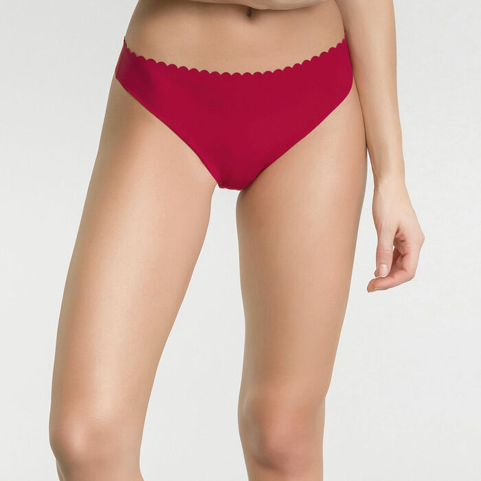 2 pack imperial red and dark blue thongs - Body Touch, , DIM
