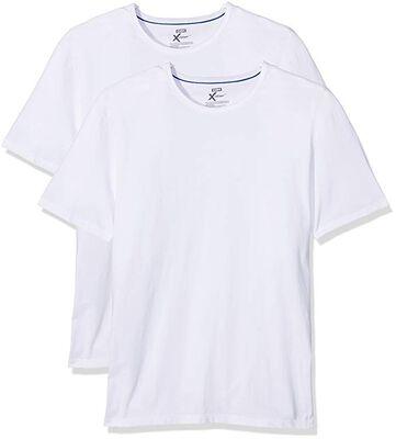 Комплект из 2 футболок X-Temp белого цвета с круглым вырезом, , DIM