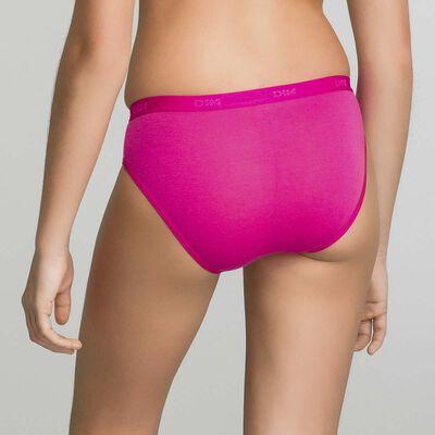 Lot de 3 culottes rose bonbon imprimé Les Pockets DIM Girl-DIM