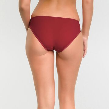 Imperial red microfiber brief – Dim Generous, , DIM