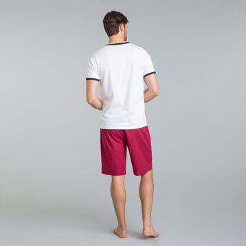 Tee-shirt de pyjama blanc Night Signature-DIM