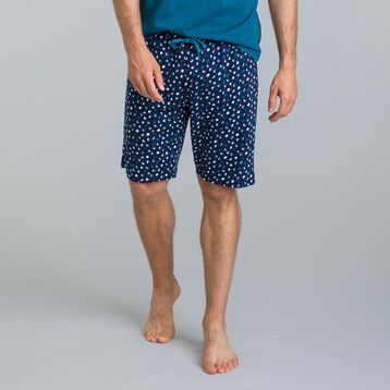 Short de pyjama bleu matelot Night Gentleman-DIM