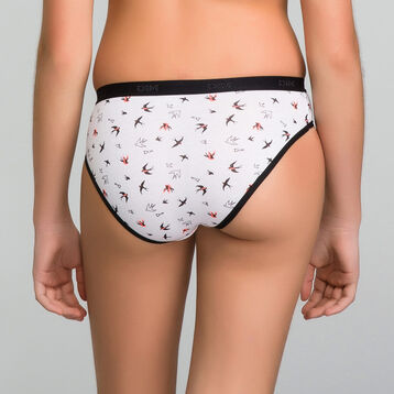 4for3 black briefs pack Dim Girl - Les Pockets, , DIM