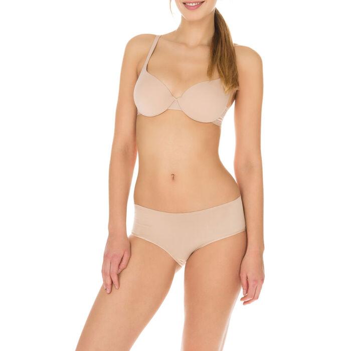 Invisi Fit push-up bra in barely beige, , DIM