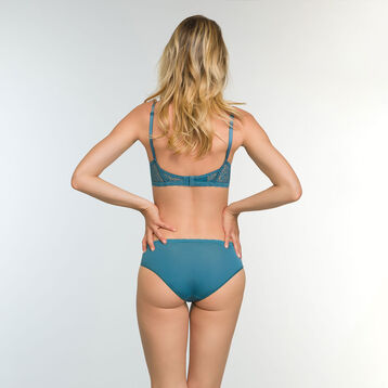 Soutien-gorge Foulard Push-up Vert Bleuté Daily Glam Trendy Sexy, , DIM