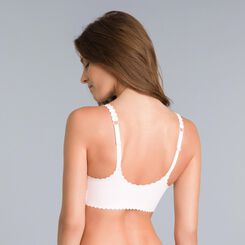 Body Touch ballerina pink wrap-around bra - DIM