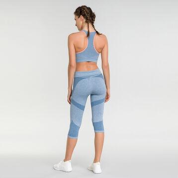 Sport bra in antique blue- Dim Sport, , DIM