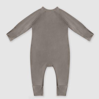 """Хлопковая пижама цвета хаки с принтом """"Радуга"""" Dim Baby, , DIM"""