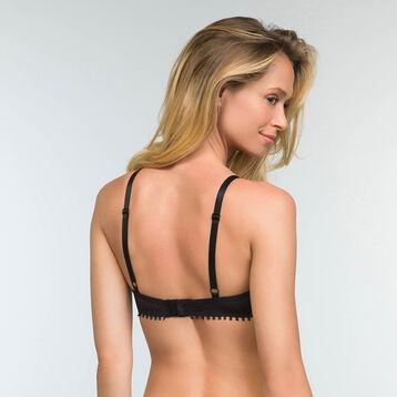 Triangle Push-up Bra in Black Lace Mod by Dim, , DIM