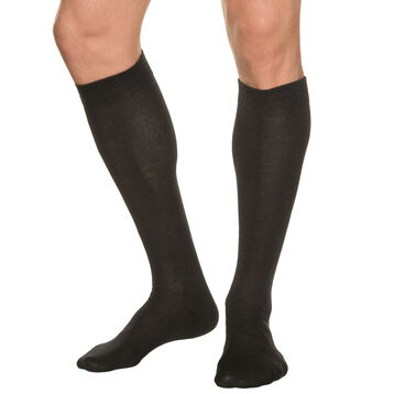 Knit knee-highs for men, , DIM