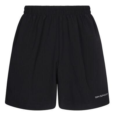 Мужские черные быстросохнущие шорты для активного отдыха Black Dim Sport, , DIM