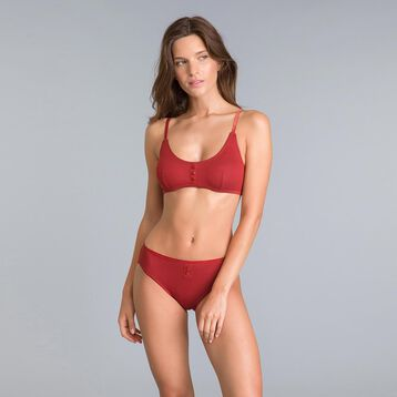 Pockets limited edition copper red knickers - DIM