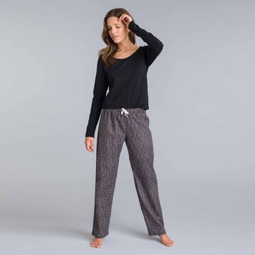 Soft & Cool boulder grey pyjama pants - DIM