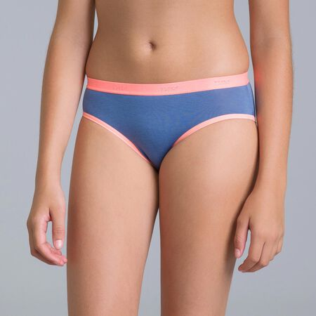 Set Of 3 Dim Girl Navy Blue Knickers