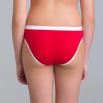 Set of 3 DIM Girl Pocket SKETCH ruby knickers - DIM