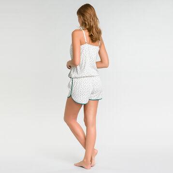 Jumpsuit pyjama with lemon prints - DIM Odyssée, , DIM