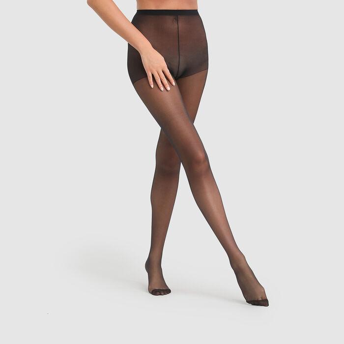 Beauty Resist Transparent 15 sheer tights in black, , DIM