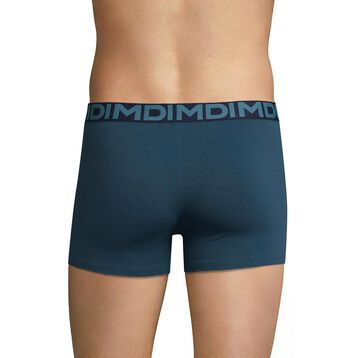 Blue trunks with black waistband - Dim Mix & Fancy, , DIM