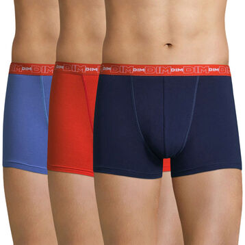 Lot de 3 boxers  Coton Stretch-DIM