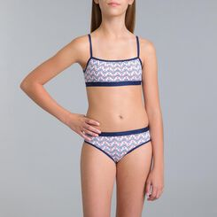 Set of 2 DIM Girl sailor blue bra - DIM