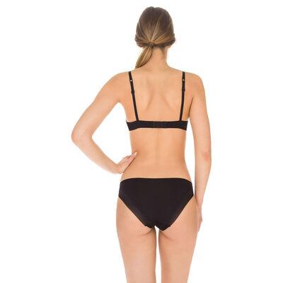 Invisi Fit second skin bikini knickers in black, , DIM
