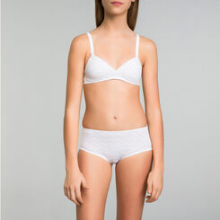 White Triangle bra - DIM Touch Girl, , DIM