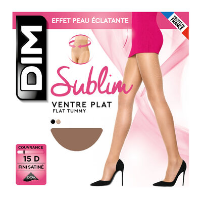 Gazelle Sublim Ventre Plat 15 tummy-flattening tights, , DIM