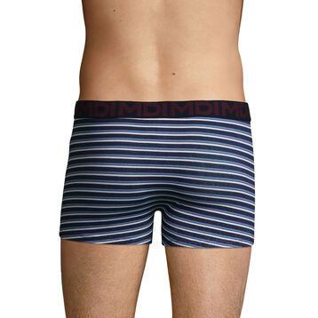 Men's stretch cotton trunks with Stripe Print Mix & Fancy, , DIM