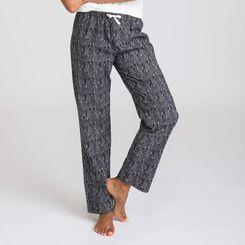 Soft & Cool black pyjama pants - DIM