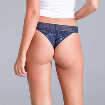 Table Panties constellation-print Brazilian briefs - DIM