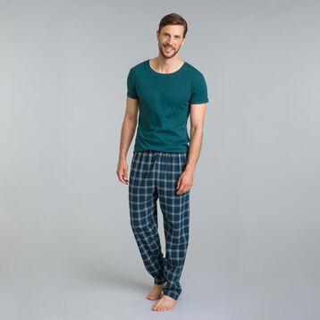 Pantalon de pyjama tartan vert Mix & Match-DIM