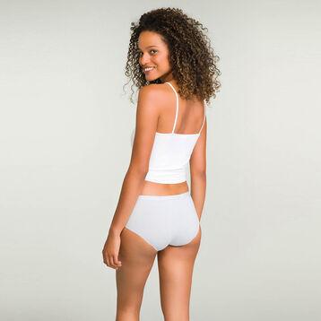 Lot de 5 shortys pour femme en coton stretch Les Pockets Ecodim, , DIM