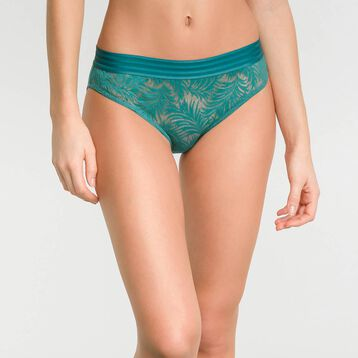 Green lace shorty - MOD de Dim, , DIM