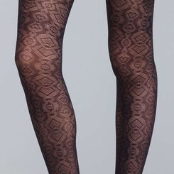 Style 20 snakeskin tights - DIM