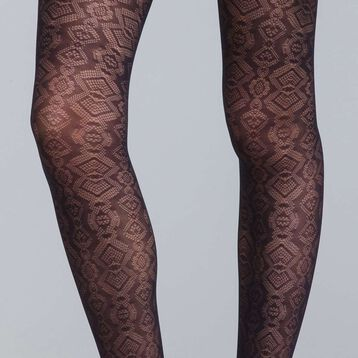 Style 20 snakeskin tights - DIM