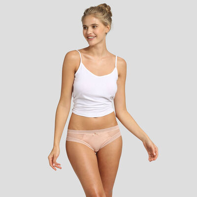 Dim Sexy Transparency 2 pack briefs nude pink , , DIM